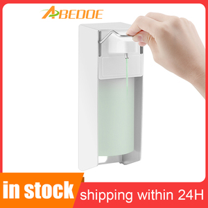 Image 1 - Disinfectant dispenser 500ml short lever Plastic pump Elbow Soap dispenser Sanitizer for hospital areas