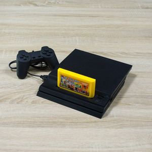 Image 2 - 8BitเกมStation Controller 4 GS4 PROสำหรับFC TV Playerคอนโซลวิดีโอเกมในตัว200ซ้ำเกมตลับหมึกพิเศษของขวัญ