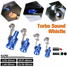 Car Auto Sounder Exhaust Pipe Straight Tailpipe Accessory Loud Whistle Sound Maker exhaust tip
