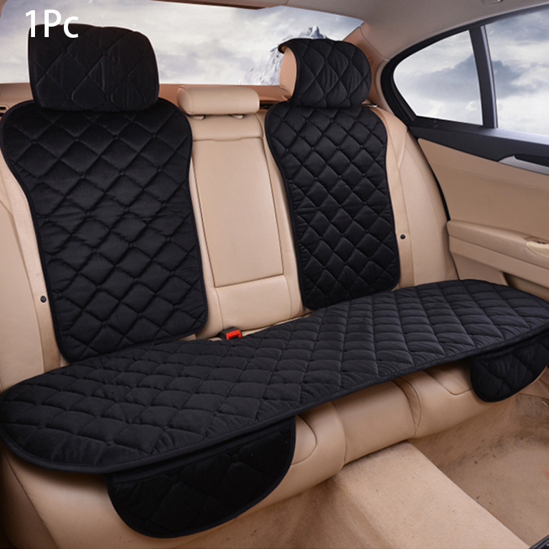 Universal Front Rear Auto Car Seat Covers Warm Plush Home Seat Cushion Protector