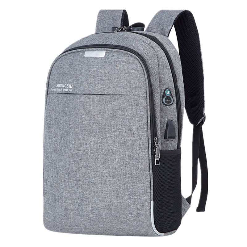 Backpack Men's  New Business Computer Bag Multi-functional Student School Bag USB Charging Casual Backpack
