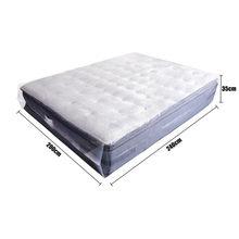 Protetor de colchão embalagem saco umidade-prova de poeira capa movente casa armazenamento 200x240x35cm espessura 0.08mm transparente