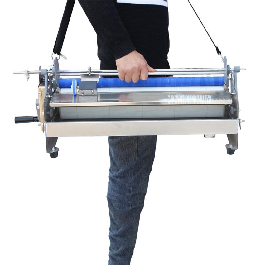 Wallpaper Glue Coating Sizing Machine Hand Shake Wallpaper Gluing Machine Coater Manual Wallpaper Paste Cementing Machine