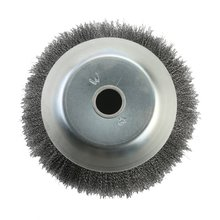 Durable Use Weed Cutting Weeder Joint Round Crimped Steel Wire Wheel Brush Trimmer Cutting Irrigation Accessories