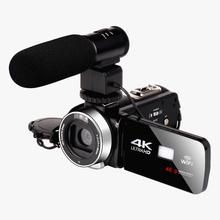 KOMERY Real WIFI 4K-48MP Video Camera 18X Digital Zoom Recorder Camcorder Touch