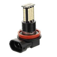 2pcs H8/H9/H11 12V-24V Car Fog Lights Lamps Bulbs 3030SMD 55W 3200LM 6000K Aluminum LED Accessories