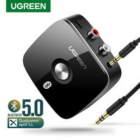 Ugreen Bluetooth RCA Receiver 5.0 aptX LL 3.5mm Jack Aux Wireless Adapter Music for TV Car RCA Bluetooth 5.0 3.5 Audio Receiver