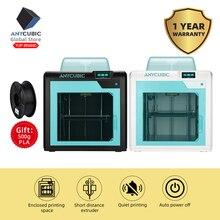 Anycubic 3D принтер Impresora 4Max Pro Imprimante Высокая Точность LCD Рабочий стол уровень UM2 большой размер печать 3D принтер Diy Набор