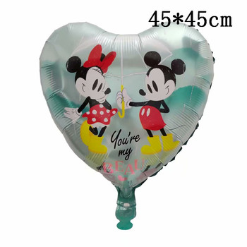 Giant Mickey Minnie Mouse Balloons Disney cartoon Foil Balloon Baby Shower Birthday Party Decorations Kids Classic Toys Gifts 35