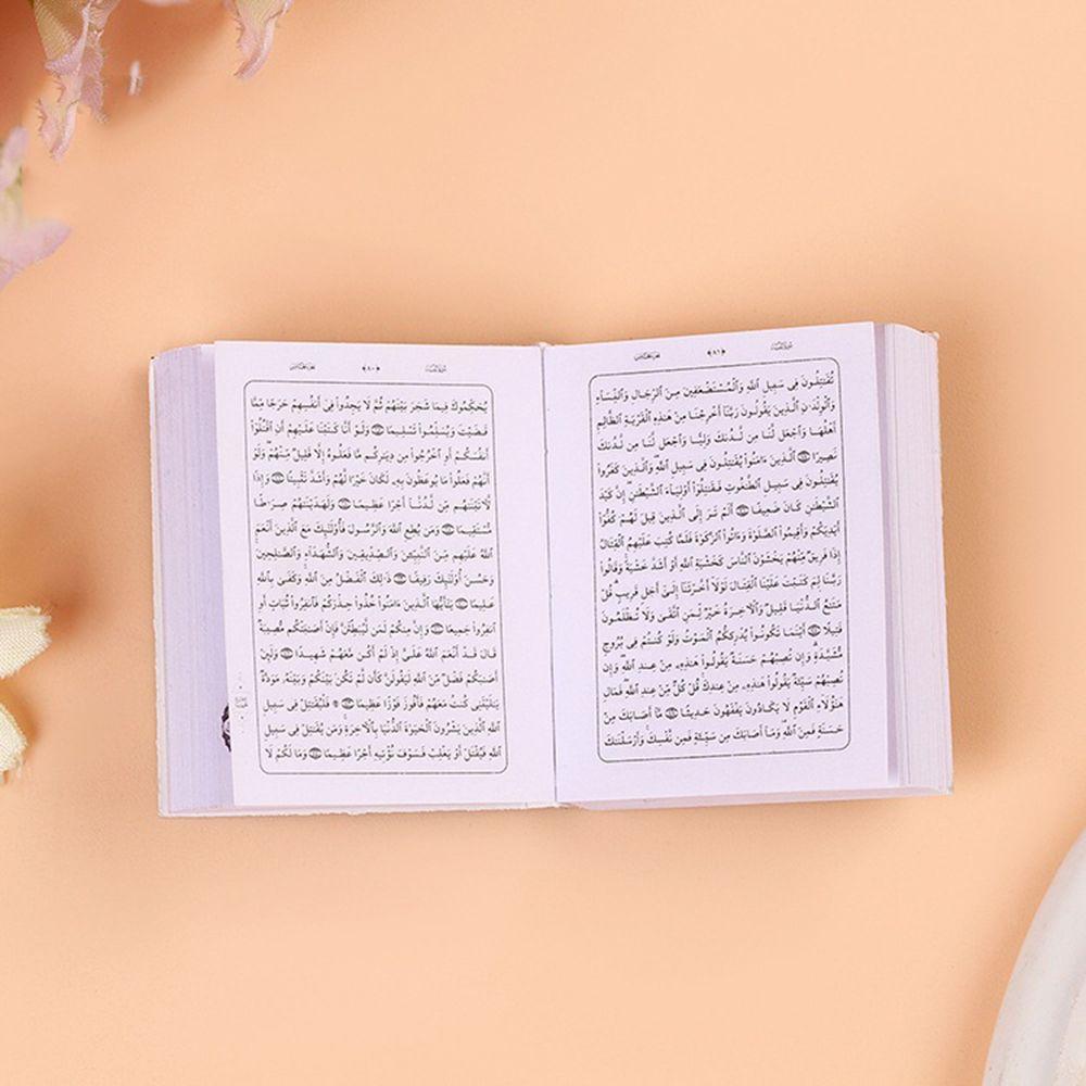 Mini-Ark-Quran-Book-Koran-Pendant-Muslim-Keychain-Bag-Purse-Car-Decor-Newly (2)