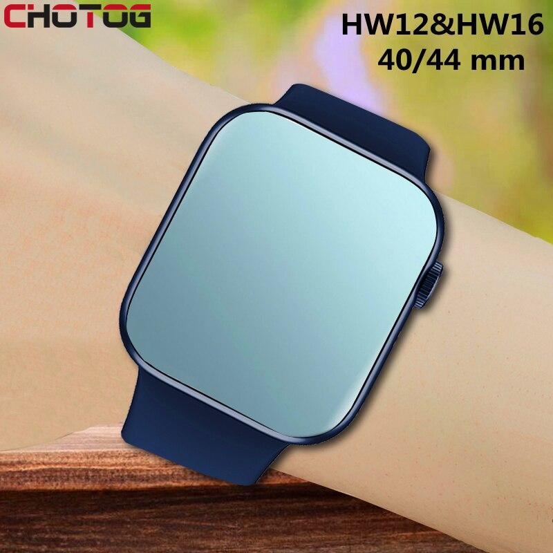 Оригинальные Смарт-часы IWO HW12 HW16 для мужчин, Bluetooth, фитнес-трекер, часы, спортивные Смарт-часы для женщин, для Iphone, Xiaomi, Huawei W46