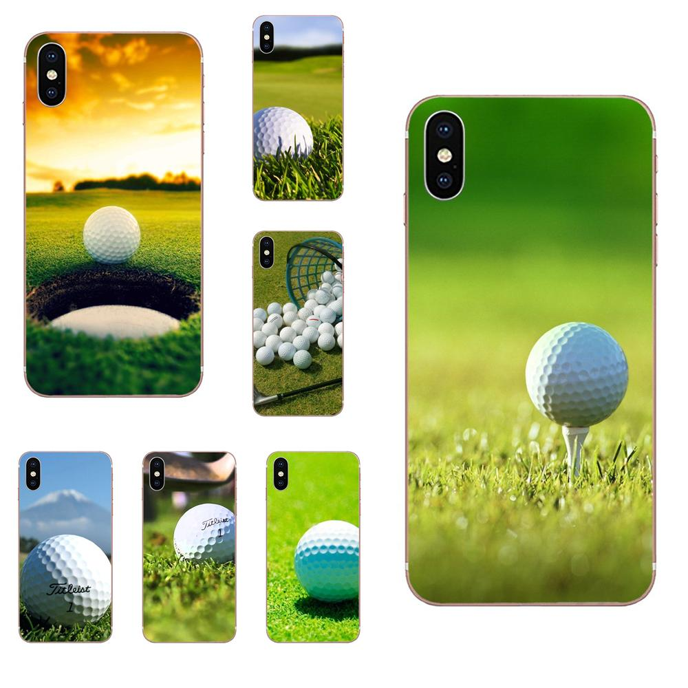 Golf Ball Course Diy On Sale Luxury For Apple Iphone 4 4s 5 5c 5s Se 6 6s 7 8 Plus X Xs Max Xr Half Wrapped Cases Aliexpress