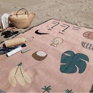 Image 3 - Couverture de lit multifonction rose hawaïen, pour le nouvel an, housse de canapé, couverture de climatisation pour lit