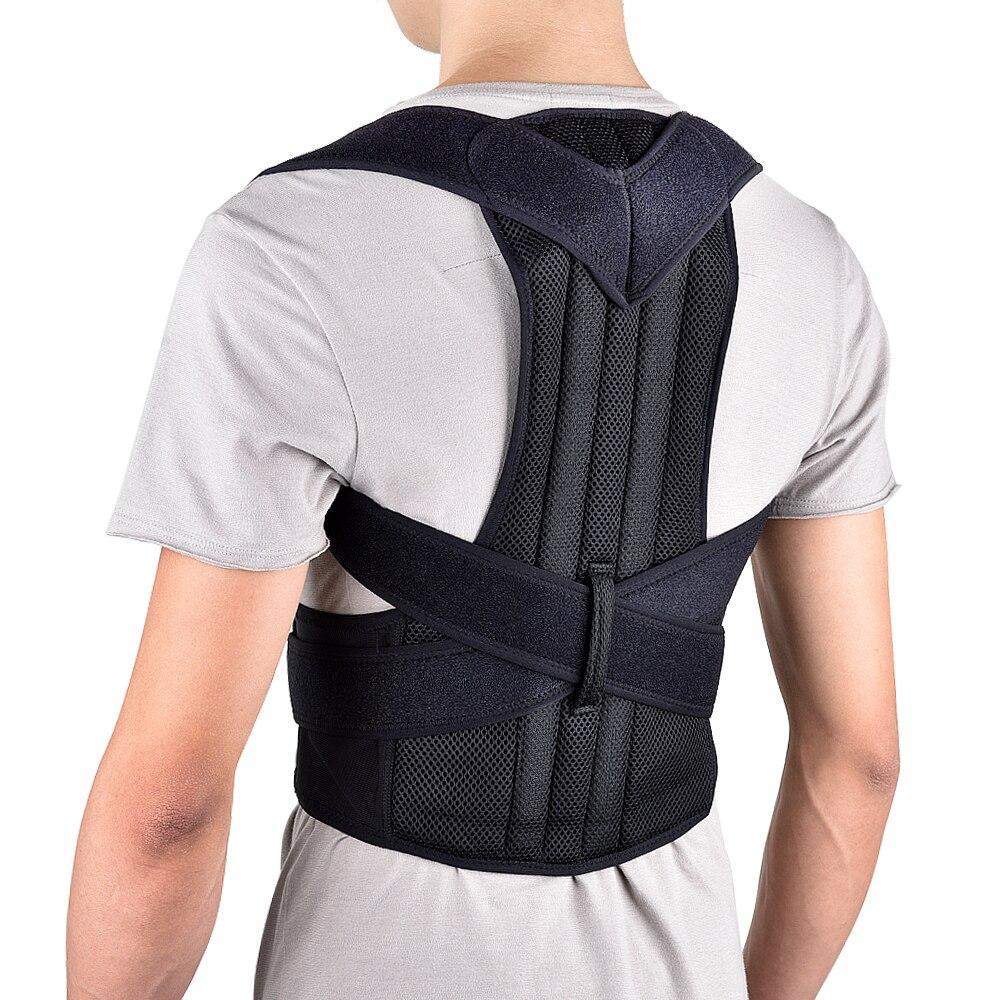 Back Posture Belt Corrector Posture Correction Belt Shoulder Lumbar Brace Spine Support Adjustable Adult Corset Body Care