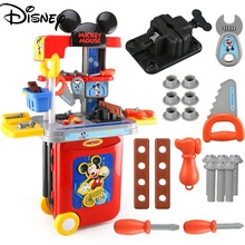 Original Disney Children's  Set Repair Box Boy Baby Repair Screw Puzzle Toys Toolbox Toy