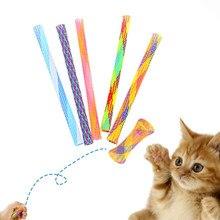 30 pçs gato primavera brinquedo kitty brinquedos kitty tubo interativo gato brinquedo do gato pacote de brinquedo gatinho brinquedos para gatos