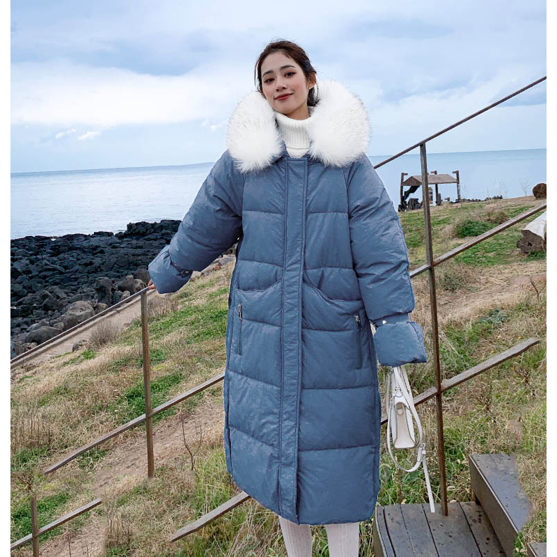 New arrival 2019 women winter long parka cotton padded warm coats fash_A4_5
