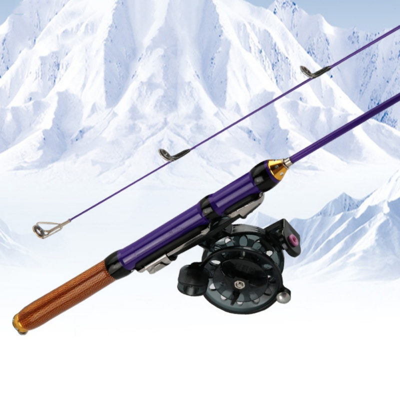 50cm/70cm Winter Glass Fiber Fishing Rods Ice Fishing Rods Or Fishing Reels To Choose Bait Casting Rod Combo Fishing Accessories