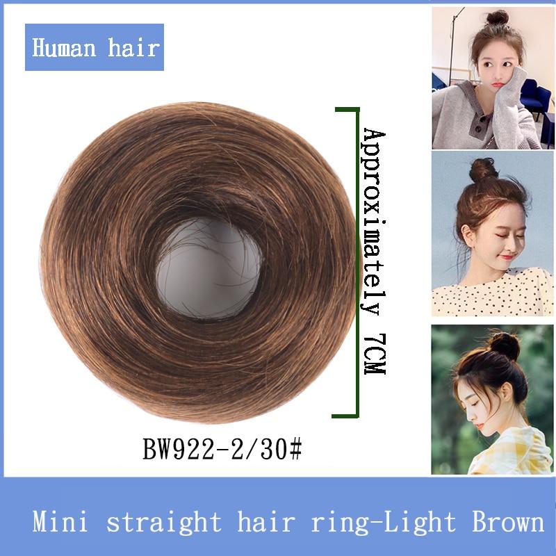 Бразильские волнистые шиньоны Bybrbana на заколках для наращивания, пучок волос для невест, 11 цветов, человеческие не реми волосы - Цвет: BW922-2I30