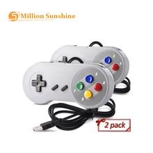 USB контроллер геймпад 2шт супер SNES игры классический джойстик для Raspberry Пи RPI147