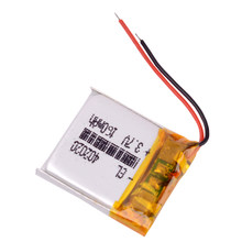 402020 3.7V 160mAh lithium polymer battery 3.7v For mp3 Bluetooth headset speaker DVR small toys smart watch headphone 042020(China)
