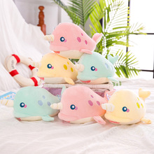Creative plush toy narwhal doll pillow unicorn