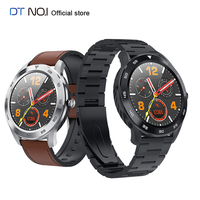 DTNO.I No.1 DT98 Smart Watch IP68 Waterproof 1.3 Full Round HD Screen ECG Detection Changeable Dials Smartwatch Fitness Tracker