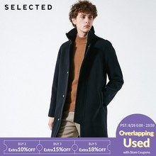 SELECTED Winter new wool blend men's business casual woolen coat S |418427555(China)