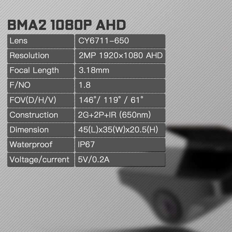 JADO 2019 G840 12 inch Streaming RearView Mirror Car Dvr Camera Dashcam FHD Dual 1080P Lens Driving Video Recorder Dash Cam - 3