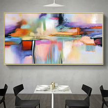 Wall Art Canvas Print Wall Painting Abstract Painting Wall Picture For Living Room Home Decor No Frame painting canvas wall decor art picture canvas print painting abstract pattern blue yellow for living room home decor no frame