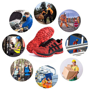 Image 5 - SUADEEX Work Shoes Men Safety Shoes Unisex Air Mesh Work Boots Men Sneakers Anti smashing Steel Toe Footwear Safety Boots Male