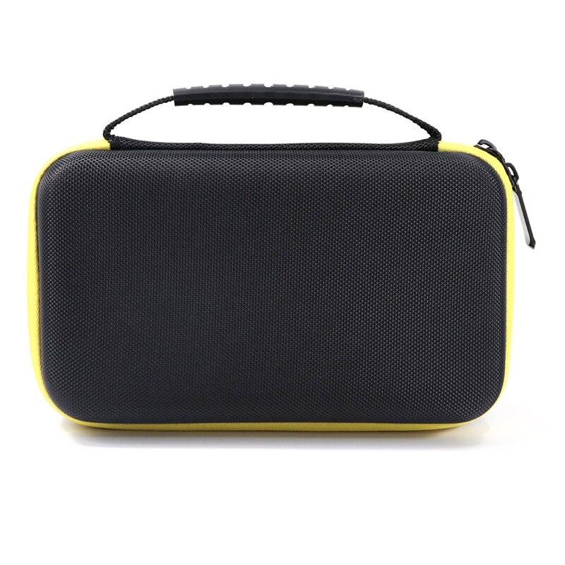 EVA Waterproof Multimeter Hard Storage Case Shockpoof Carry Bag With Mesh Pocket For F117C/F17B Digital Multimeter Protection