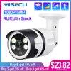 MISECU H.265 5MP 1080P POE Camera Two Way Audio Human Detection Outdoor Waterproof IP Camera ONVIF Security Video Surveillance