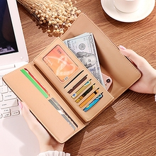 Wallet Women Ladies Long Style Three-fold Deerhead 2019 New Cool Frosted Multi-Card Holder Zipper Clasp Clut
