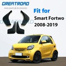 Mudflap für Smart Fortwo W451 451 W453 453 2008 ~ 2019 Fender Schlamm Schutz Klappen Kotflügel Zubehör 2009 2010 2011 2015 2016 2018