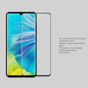 Image 3 - For Xiaomi Mi Note 10 Glass NILLKIN DS+MAX 9H Safety Full Glue 3D Tempered Glass for Xiaomi Mi Note 10 Pro / CC9 Pro