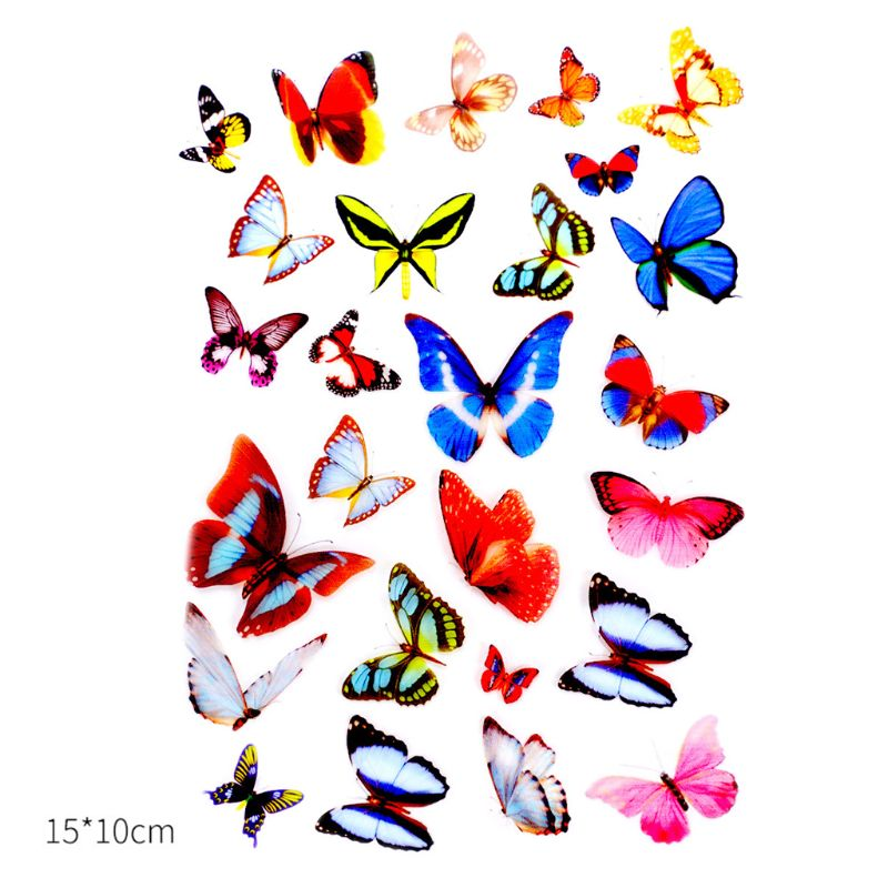 Epoxy Resin DIY Filling Material Sticker UV Crystal Silicone Molds Making Creative New Stickers N58F