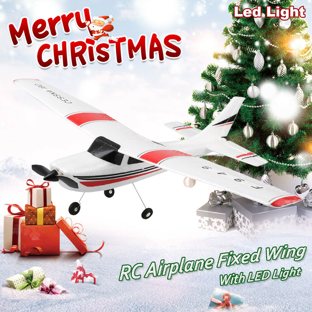 F949 3CH Fixed Wing Plane Radio Control Airplane 2.4G Outdoor Long Distance Rubber Plane Remote Control RC Plane Toy