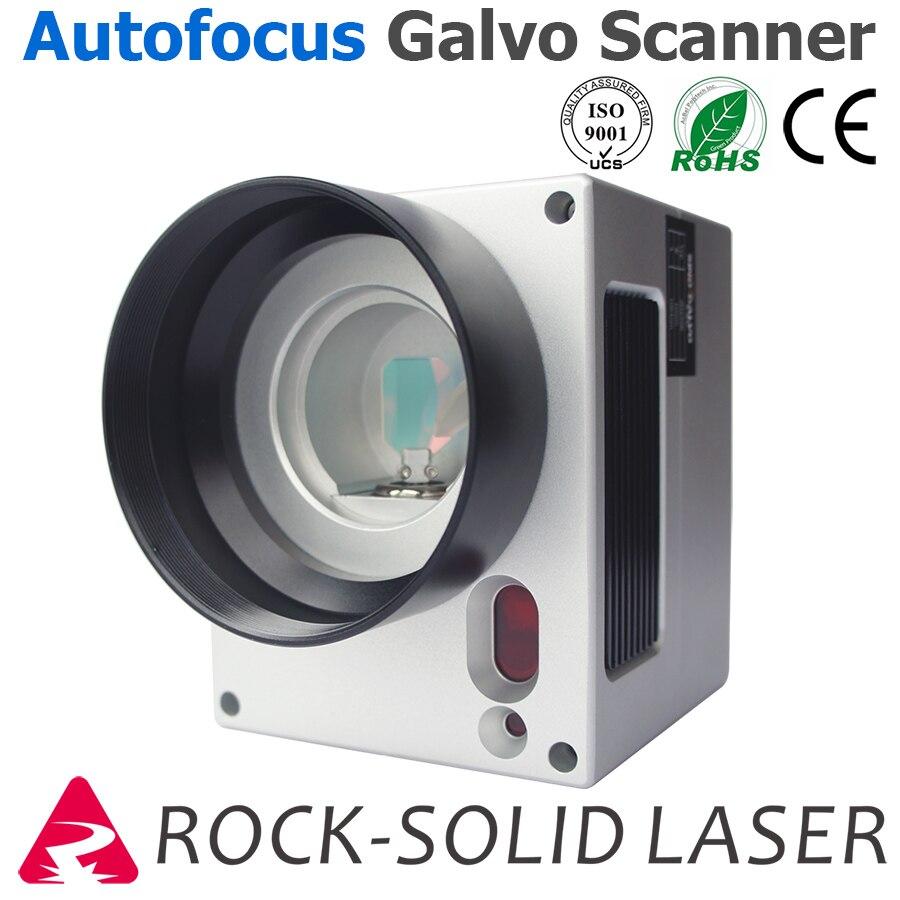 Auto Focus Galvo Scan Head Fiber Laser Galvanometer Scanner Marking Machine Part 1064nm SG2206
