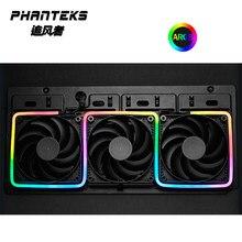 Phanteks m1 m5 luz tira argb neon computador caso decoração tira conduzida 5v 3pin encabeçamento de luz aura 13mm x 5.5mm x 550mm 1000mm