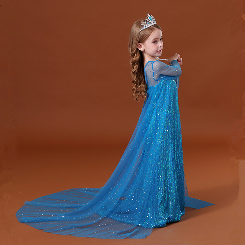 Fancy Girl Dress Cosplay Costume For Kids Dresses Princess Carnival Birthday Party Wear Baby Clothes Teens Chidren Clothing 6