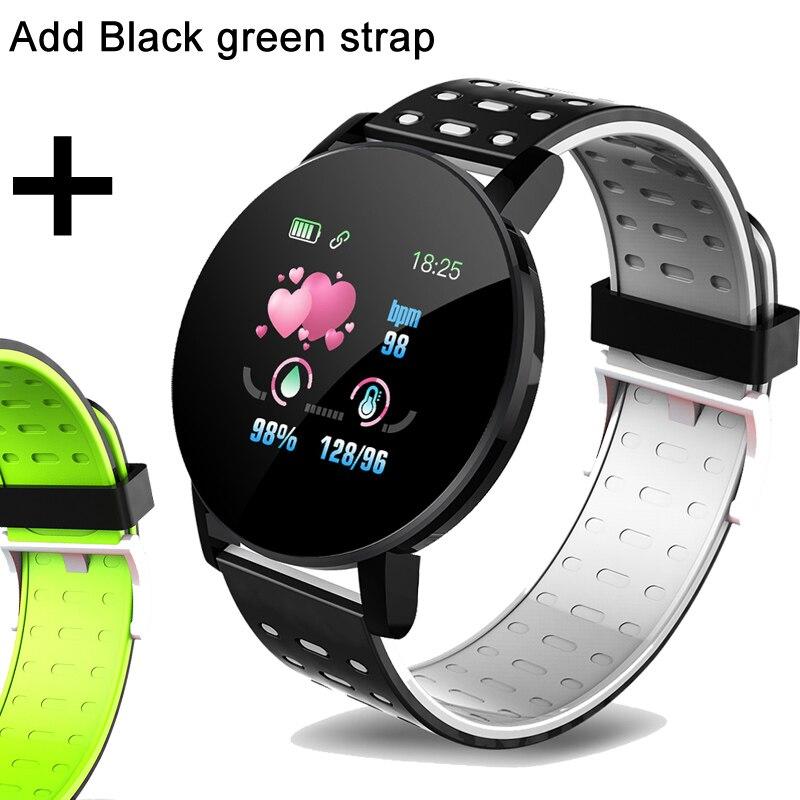 Add a black green