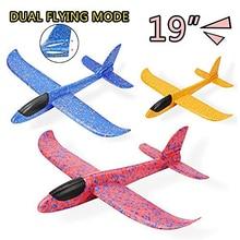EPP пенный самолет ручной бросок самолет Запуск планер самолет 48 см модель самолета наружные игрушки для детей