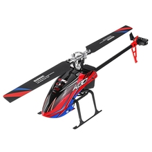 K130 2.4G 6Ch Brushless 3D6G System Flybarless Rc Helicopter Bnf Compatible with Futaba S-Fhss