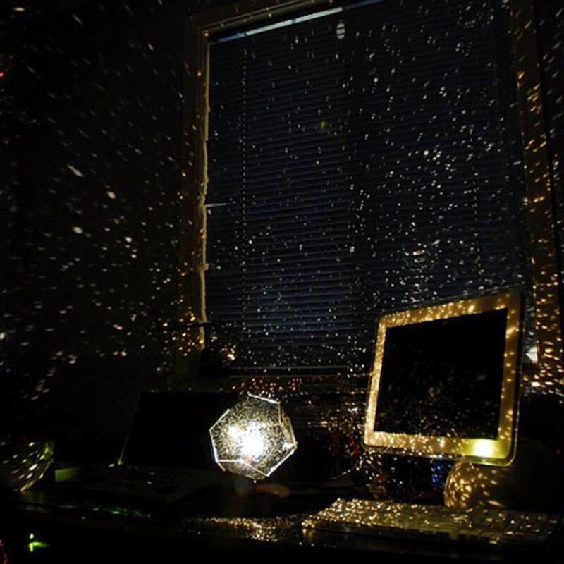 Starry Sky Projector Night Light DIY Home Planetarium Lamp LED Moon Sky Romantic Night Projector Light Novelty Birthday Gift