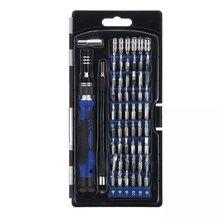 58 в 1 Многофункциональный прецизионный Набор отверток с 54 битами для телефона часы Sun Glassess Repair Tool