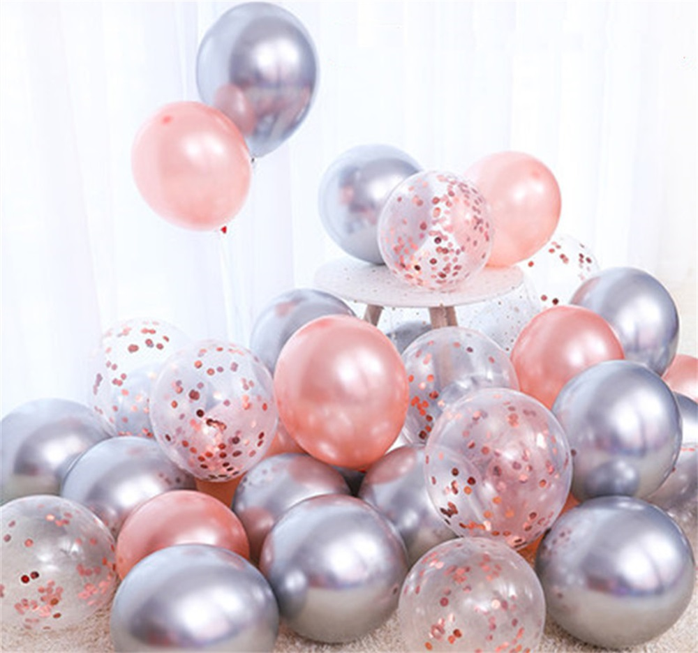 18pcs 10inch Multicolor Latex Balloons Matte Helium Globos For Wedding Decoration 21