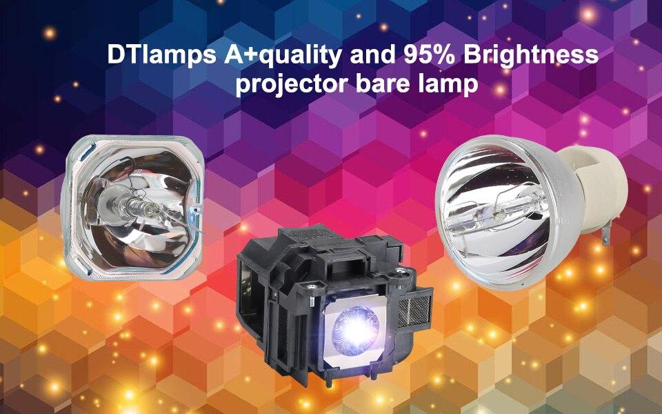 Nova substituição da lâmpada do projetor elplp36