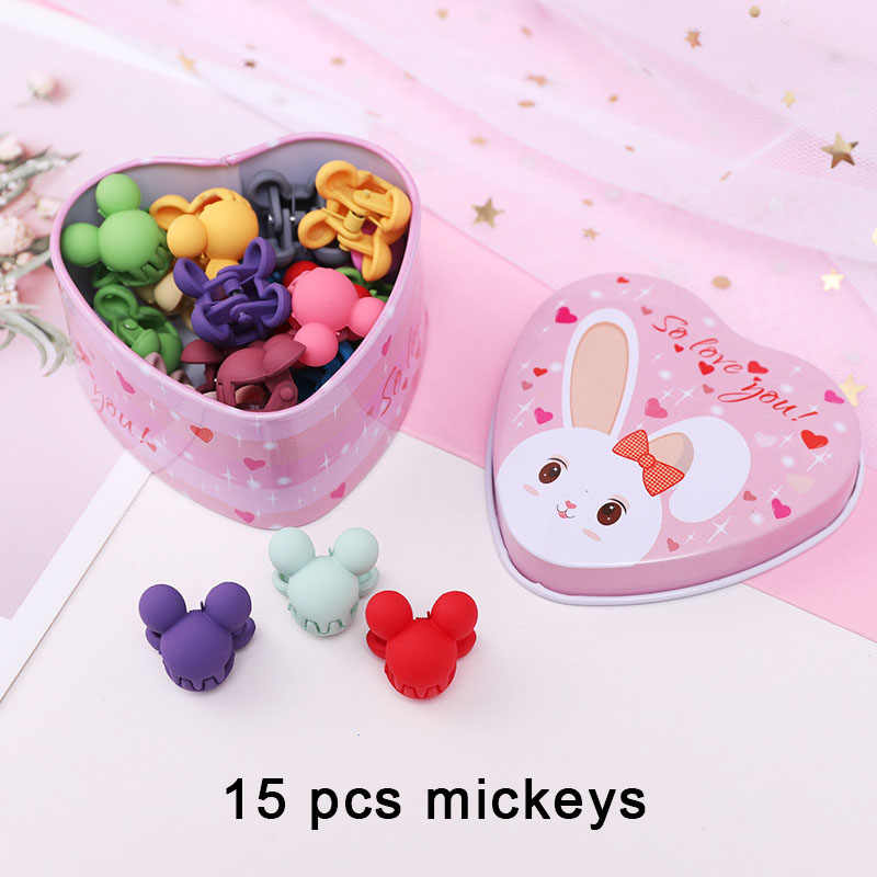 1 caixa nova feminino meninas colorido básico elástico cabelo bandas de borracha acessórios para crianças gravata anel de cabelo corda titular headdress clipes