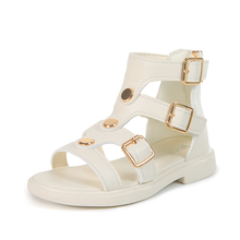 Beach-Sandals Zipper Soft-Gladiator Girls Kids Princess Summer Children's New-Fashion